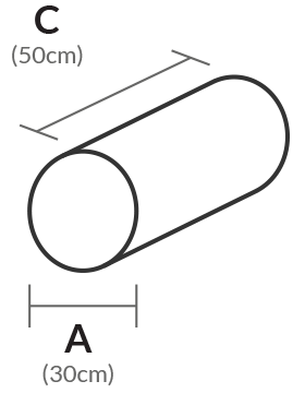 Cylinder dimensions
