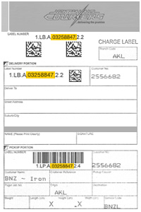 Charge Labels